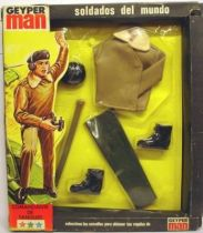 Geyper Man - Uniforme y equipos soldados - Comandanta de Tanques