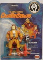 Ghostbusters Filmation - Action Figure -  Eddie (mint on Comansi card)