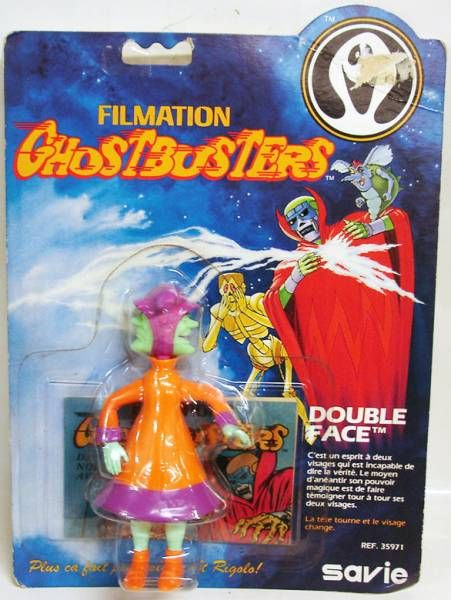 Ghostbusters Filmation - Action Figure - Ghostbuster (Filmation) Mint on card Fib Face