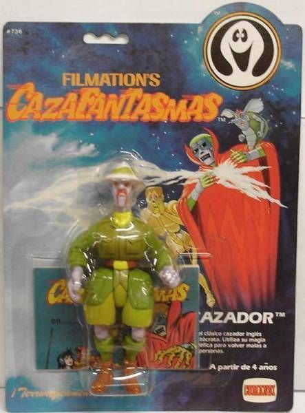 Ghostbusters Filmation - Action Figure - Haunter (mint on Comansi card)