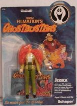 Ghostbusters Filmation - Action Figure - Jessica (mint on Schaper card)