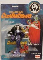 Ghostbusters Filmation - Action Figure - Mysteria (mint on Comansi card)