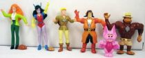 Ghostbusters Filmation - Yolanda pvc figures complete set