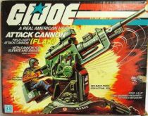 G.I.JOE - 1982 - Attack Cannon F.L.A.K.