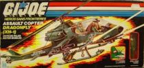 G.I.JOE - 1983 - Assault Copter Dragonfly XH-1