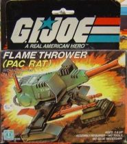 G.I.JOE - 1983 - Flamethrower PAC/RAT