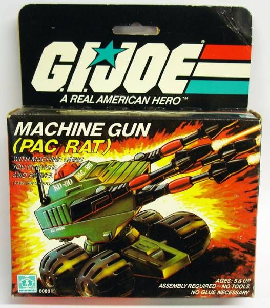 G.I.JOE - 1983 - Machine Gun PAC/RAT