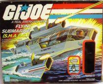G.I.JOE - 1984 - Flying Submarine S.H.A.R.C.