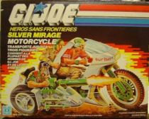 G.I.JOE - 1985 - Silver Mirage Motorcycle