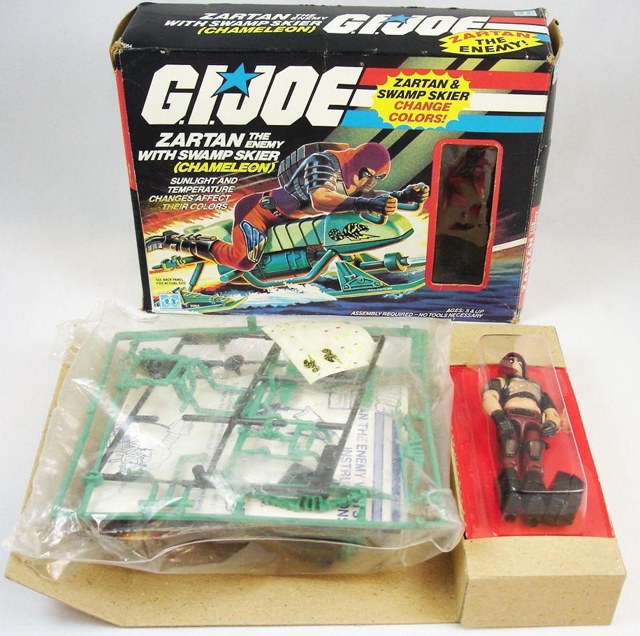 G.I.JOE - 1984 - Swamp Skier Chameleon & Zartan