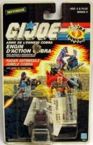 G.I.JOE - 1988 - Action Pack Cobra Twin Missile Radar