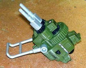 G.I.JOE - 1988 - Action Pack Double Machine Gun (loose)