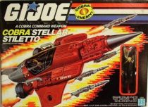 G.I.JOE - 1988 - Cobra Stellar Stiletto