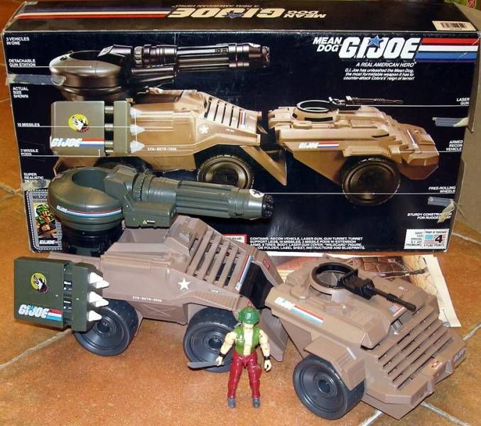 G.I.JOE - 1988 - Mean Dog