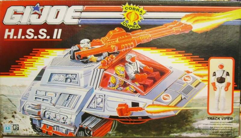 G.I.JOE - 1989 - Cobra H.I.S.S. II