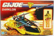 G.I.JOE - 1989 - Evader & Darklon (loose with box)