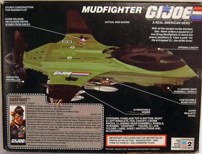 G.I.JOE - 1989 - Mudfighter
