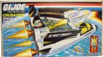 G.I.JOE - 1990 - Crusader Space Shuttle with Avenger Scout Craft