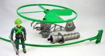 G.I.JOE - 1991 - G.I.Joe Battle Copter & Major Altitude (loose)