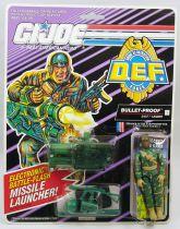 """G.I.JOE - 1992 - Bullet-Proof \""""D.E.F. Drug Elimination Force\"""""""