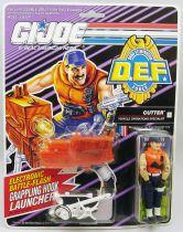 """G.I.JOE - 1992 - Cutter \""""D.E.F. Drug Elimination Force\"""""""