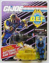 """G.I.JOE - 1992 - Shockwave \""""D.E.F. Drug Elimination Force\"""""""