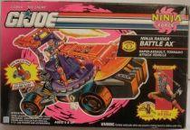 G.I.JOE - 1994 - Ninja Raider Battle Ax