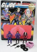 G.I.JOE - 1997 - Cobra Command Team : Cobra Commander, Baroness, Destro