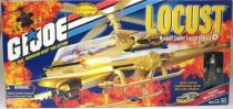 G.I.JOE - 2000- Assault Copter Locust XH-1 & Wild Bill