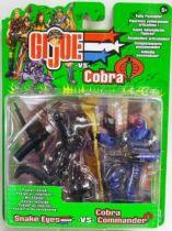 G.I.JOE - 2002 - Snake Eyes & Cobra Commander
