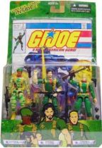 G.I.JOE - 2004 - Comic pack #3 (Sgt. Stalker, Double Clutch & General Abernathy)