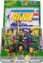 G.I.JOE - 2004 - Comic pack #3 (Sgt. Stalker, Double Clutch & General Abernathy)