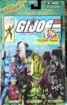G.I.JOE - 2005 - Comic pack #49 (Scrap Iron, Serpentor, Firefly)