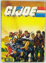 G.I.Joe - Catalogue dépliant Hasbro France 1988