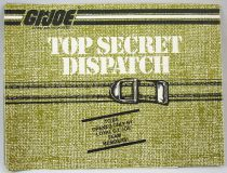 "G.I.Joe - Catalogue dépliant Hasbro USA 1985 ""Top Secret Dispatch\"""