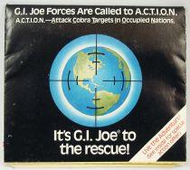 "G.I.Joe - Catalogue dépliant Hasbro USA 1987 \""Operation A.C.T.I.O.N.\"""