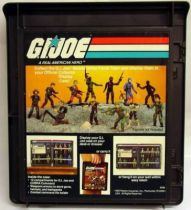 G.I.Joe - Hasbro - 1982 Official G.I.Joe Collector Display Case