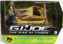 G.I.JOE 2009 - Armored Panther & Thunderblast (loose with box)