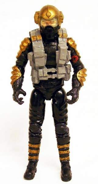 G.I.JOE 2009 - Crimson Hydra & Aero Viper (loose)