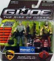 G.I.JOE 2009 - Gung-Ho vs. Copperhead