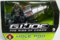 G.I.JOE 2009 - Mole Pod & Terra-Viper (loose with box)