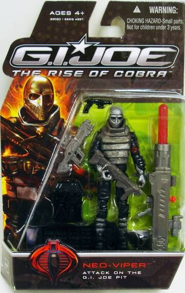 G.I.JOE 2009 - Neo-Viper (Attack on the G.I.Joe Pit)