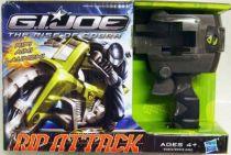 G.I.JOE 2009 - Rip Attack Jet Storm Cycle & Snake Eyes