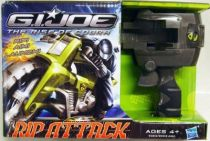 G.I.JOE 2009 - Rip Attack Jet Storm Cycle & Snake Eyes