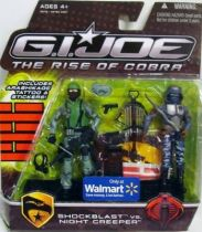 G.I.JOE 2009 - Shockblast vs. Night Creeper