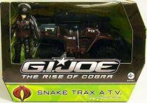 G.I.JOE 2009 - Snake Trax A.T.V. & Scrap-Iron