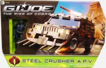 G.I.JOE 2009 - Steel Crusher APV & Nitro-Viper (loose with box)