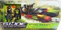 G.I.JOE 2009 - Sting Raider with Copperhead & Swamp-Viper