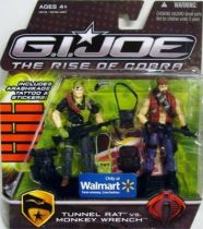 G.I.JOE 2009 - Tunnel Rat vs. Monkeywrench