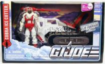 G.I.JOE 2010 - Cobra Ice Cutter with Snow Serpent Officer